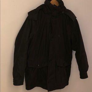 Coat Dark Brown Size: Medium Brand: London Fog